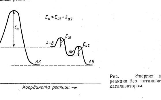 Механизм действия катализаторов